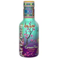 ARIZONA Pet Πράσινο τσάι με Δαμάσκηνο 450ml