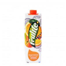 FRULITE Φυσικός χυμός Πορτοκάλι 1lt