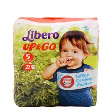 LIBERO Up & Go No.5 Maxi Plus 10-15 22 τεμ.  (Πρ. Ελληνικής Αντιπροσωπείας)