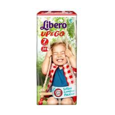 LIBERO Up & Go No.7 XL PLUS  16-26 34 τεμ.  (Πρ. Ελληνικής Αντιπροσωπείας)
