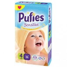 PUFIES Maxi pack Sensitive  Size 4/Maxi