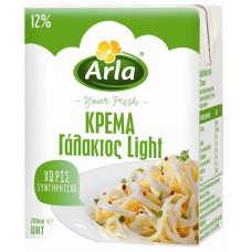 ARLA Κρέμα Γάλακτος Light 12% 200ml