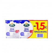 ARLA Κρέμα Γάλακτος 36% 3x200ml -1,5eur