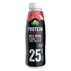 ARLA Γάλα με Πρωτεΐνη 50% Λιγ. Ζαχ. Φράουλα 500gr