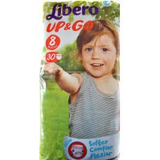 LIBERO Up & Go No.8 19-30 30 τεμ.  (Πρ. Ελληνικής Αντιπροσωπείας)