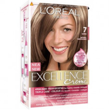 L'OREAL Excellence Βαφή Μαλλιών N.7 Ξανθό 48ml