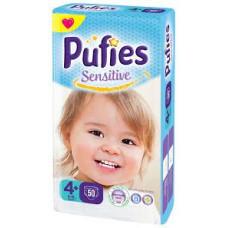 PUFIES Maxi pack Sensitive  Size 4+/Maxi+
