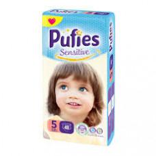 PUFIES Maxi pack Sensitive  Size 5/Junior