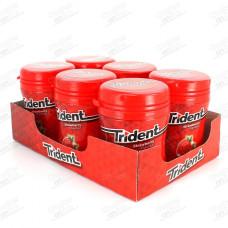 TRIDENT Τσίχλες Φράουλα Μπουκάλι 50,4gr (BARCODE ZIN: 7622210642851)