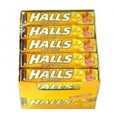 HALLS Καραμέλες Μέλι-Λεμόνι 32gr (BARCODE ZIN: 7622210698018)