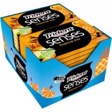 TRIDENT Τσίχλες Senses Τροπικά φρούτα πλ. 0,90ευρώ 23gr (BARCODE ZIN: 7622210736697)