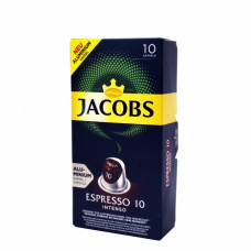 JACOBS Capsules Espresso 10 Intenso 10pc
