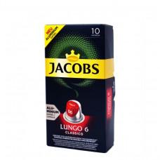 JACOBS Capsules Lungo 6 Classico 10pc