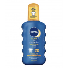 NIVEA Sun Αντηλιακό Protect & Moisture Spray SPF20 200ml