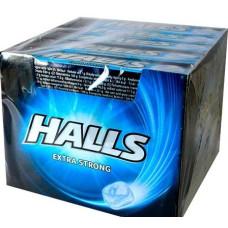 HALLS Καραμέλες Xstrong 32gr (BARCODE ZIN: 8416400888209)