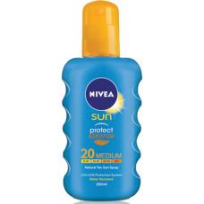 NIVEA Sun Αντηλιακό Protect & Bronze Spray SPF20 200ml