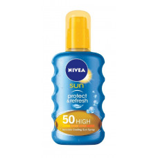 NIVEA Sun Αντηλιακό Protect & Refresh Invisible Spray SPF50 200ml