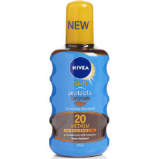 NIVEA Sun Αντηλιακό Protect & Bronze Oil Spray SPF20 200ml