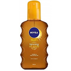 NIVEA Sun Αντηλιακό Deep Tan Oil Spray SPF0 200ml