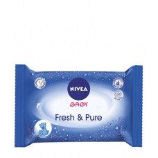 NIVEA Baby Pure Μωρομάντηλα 63 τεμαχίων