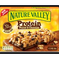 NATURE VALLEY Μπάρα Πρωτεΐνης Σοκολάτα (4τμχ) 160gr