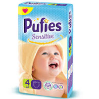 PUFIES Small pack Sensitive Size 4/Maxi