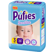 PUFIES Small pack Sensitive  Size 3/Midi