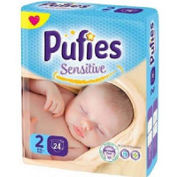 PUFIES Small pack Sensitive  Size 2/MIni