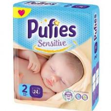 PUFIES Small pack Sensitive  Size 2/MIni