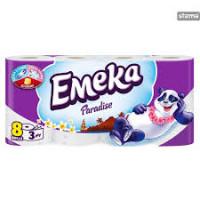 EMEKA Toilet Paper 3ply Paradise 8 ρολά