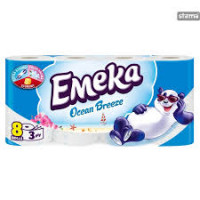 EMEKA Toilet Paper 3ply Ocean Breeze 8 ρολά